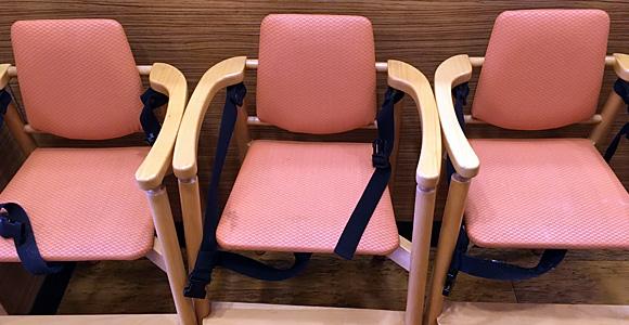 ロッテリア 戸田公園駅前店 子供椅子
