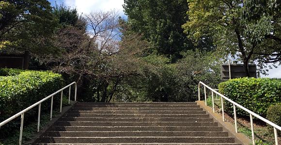 戸田公園 階段