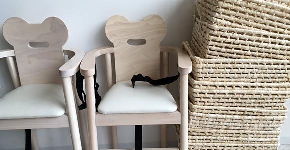 タリーズコーヒー戸田店 子ども用の椅子