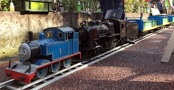 上戸田ゆめまつり 機関車