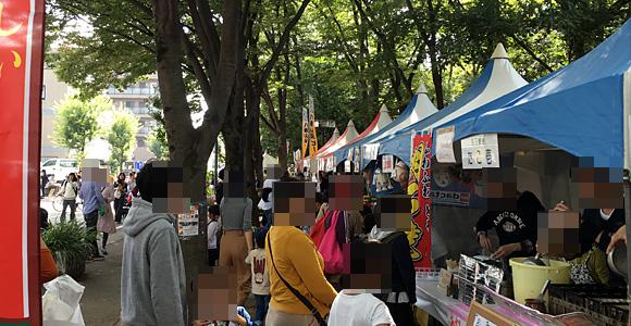 第36回戸田市商工祭の様子