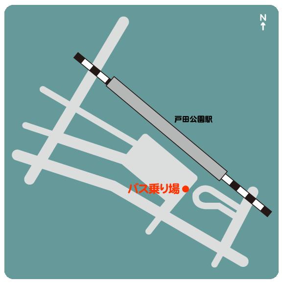 マップ 戸田公園駅西口