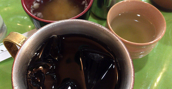 戸田公園 華 アイスコーヒー
