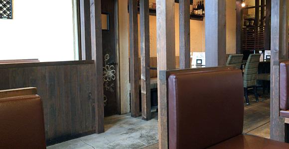 Cafe & Dining SUNの店内