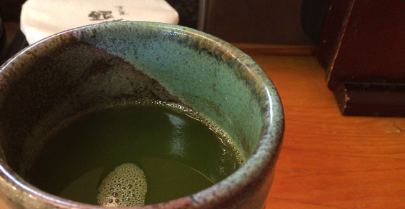 すし屋 銀蔵 お茶