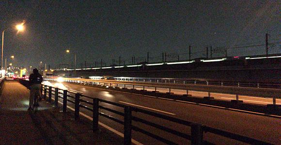 新幹線も通ります