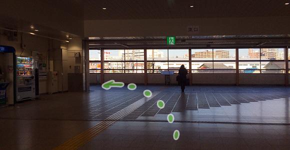 戸田公園駅東口を左へ