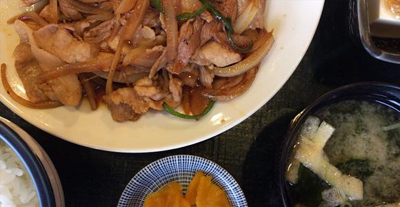 豚の焼肉定食