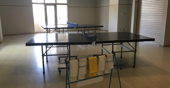 卓球の部屋