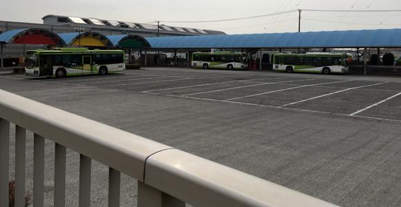 無料送迎バス乗り場