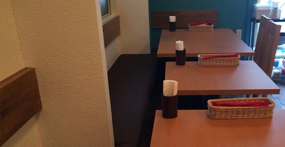 2人席、4人席