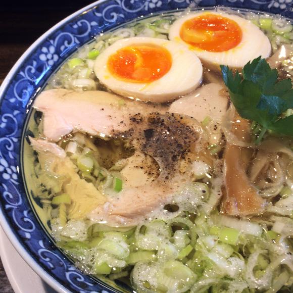 味玉鶏そば(塩)