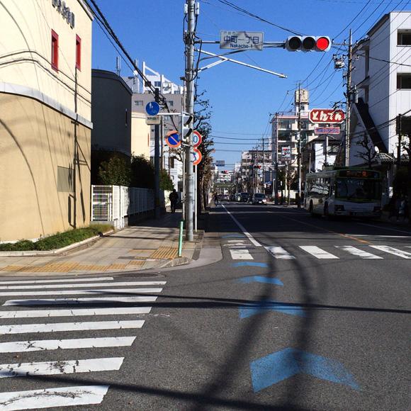 喜沢通りを西川口方面へ