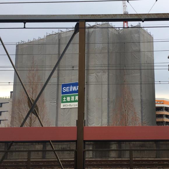 戸田駅ホームから(2020/1)