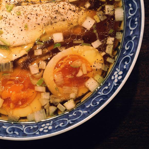 味玉鶏そば(醤油)