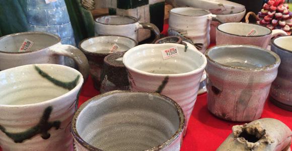 陶器の販売