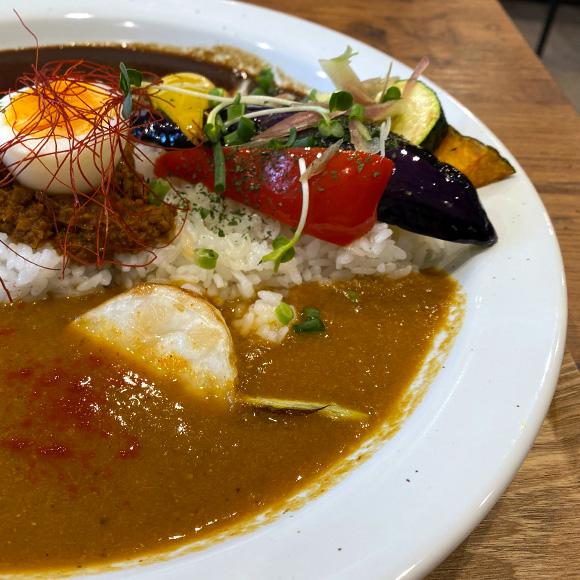 彩り野菜×タンドリーチキン