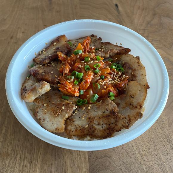 サムギョップサル丼