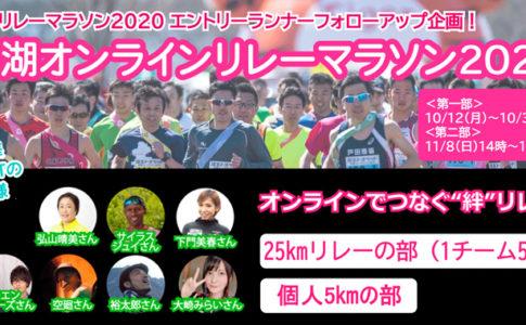 彩湖オンラインリレーマラソン2020